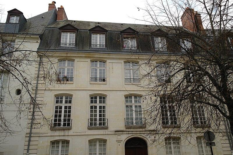 Photo du Monument Historique Hôtel du 18e siècle situé à Tours