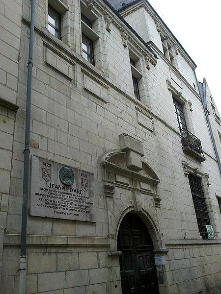 Photo du Monument Historique Hôtel Robin Quantin situé à Tours