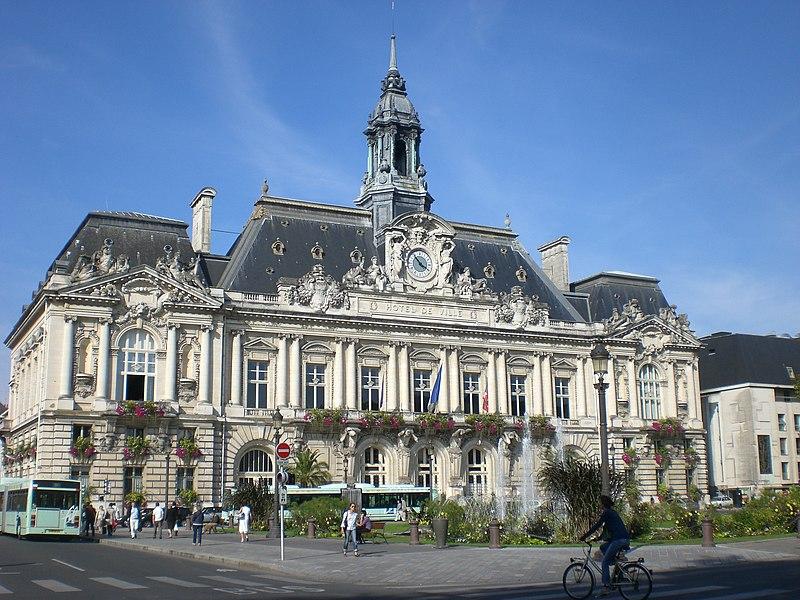 Photo du Monument Historique Hôtel de ville situé à Tours