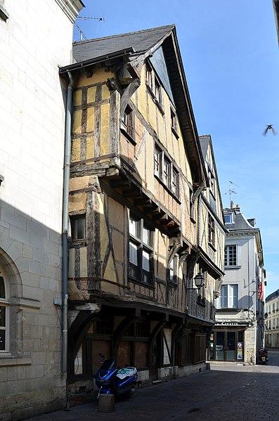 Photo du Monument Historique Immeuble situé à Tours