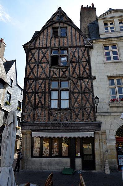 Photo du Monument Historique Maison situé à Tours