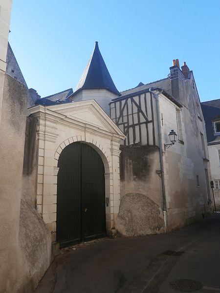 Photo du Monument Historique Maison dite de La Psalette, située dans l'Ilot Saint-Martin situé à Tours