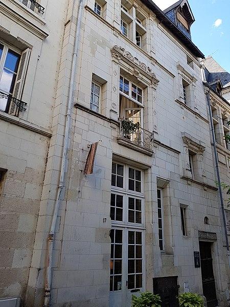 Photo du Monument Historique Maison de Juste de Juste situé à Tours