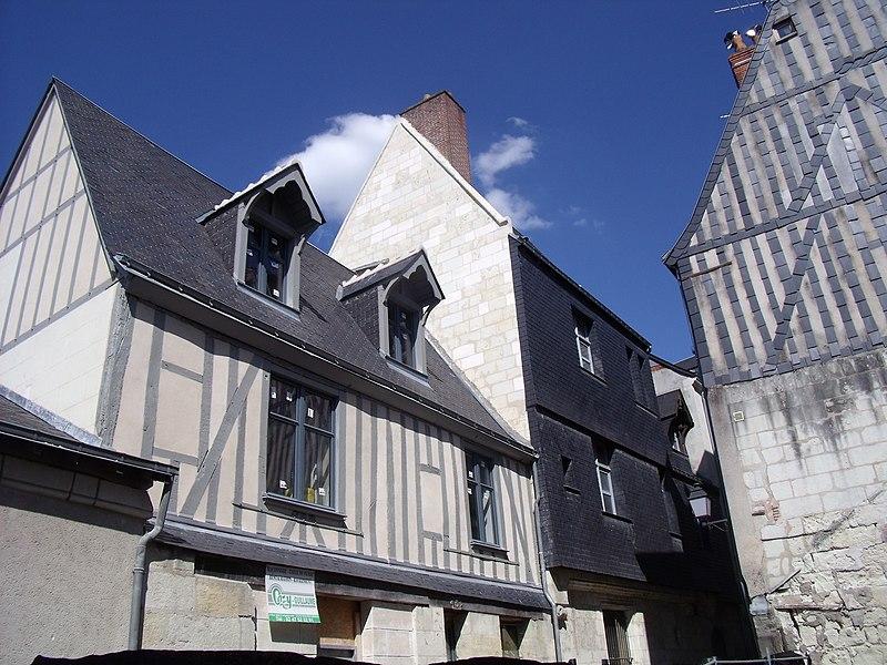 Photo du Monument Historique Maison présumée de Jehan Bourdichon situé à Tours