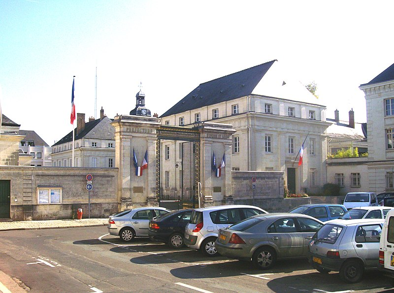 Photo du Monument Historique Préfecture situé à Tours