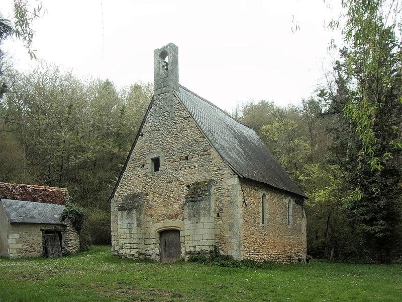 Photo du Monument Historique Ancienne chapelle Saint-Laurent situé à Veigné