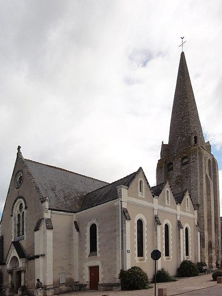 Photo du Monument Historique Eglise paroissiale Saint-Maixent situé à Veigné