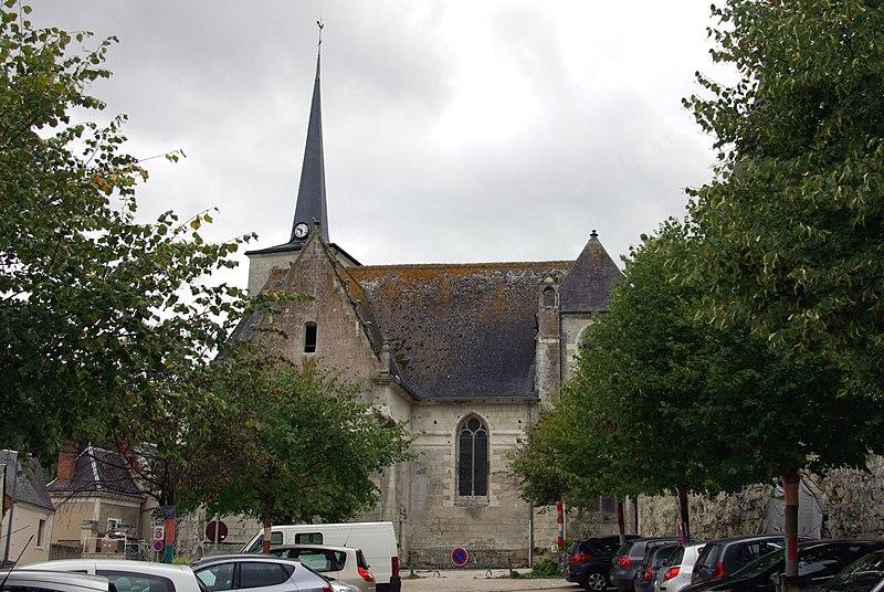 Photo du Monument Historique Eglise paroissiale Notre-Dame situé à Véretz