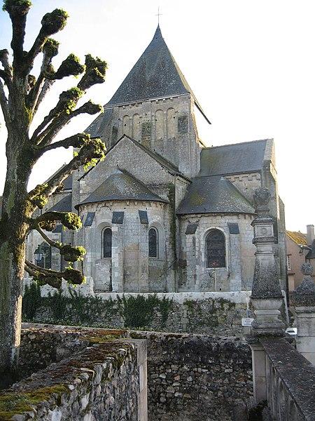 Photo du Monument Historique Eglise paroissiale Saint-Etienne situé à Villandry