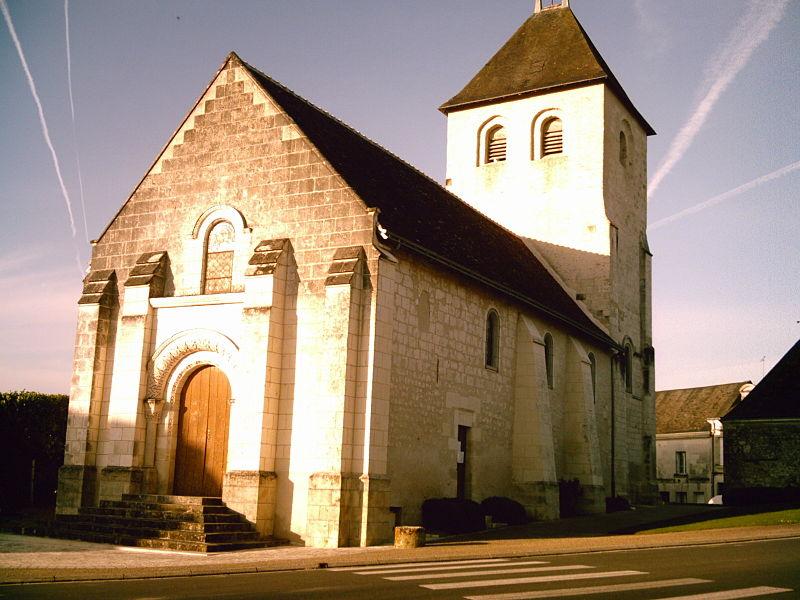 Photo du Monument Historique Eglise paroissiale Saint-Pierre-es-Liens situé à Vou