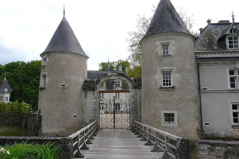 Photo du Monument Historique Château de Boisbonnard situé à Villeperdue