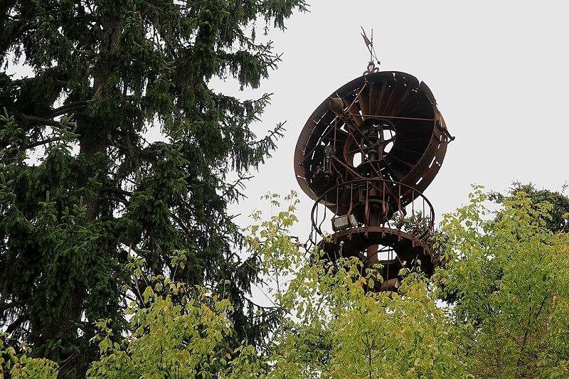 Photo du Monument Historique Eolienne Bollée situé à Amboise