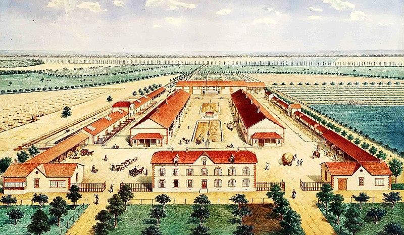 Photo du Monument Historique Domaine de la Donneterie et Ferme industrielle de Platé situé à Neuvy-le-Roi