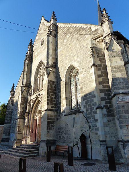 Photo du Monument Historique Eglise paroissiale Saint-Symphorien situé à Fondettes