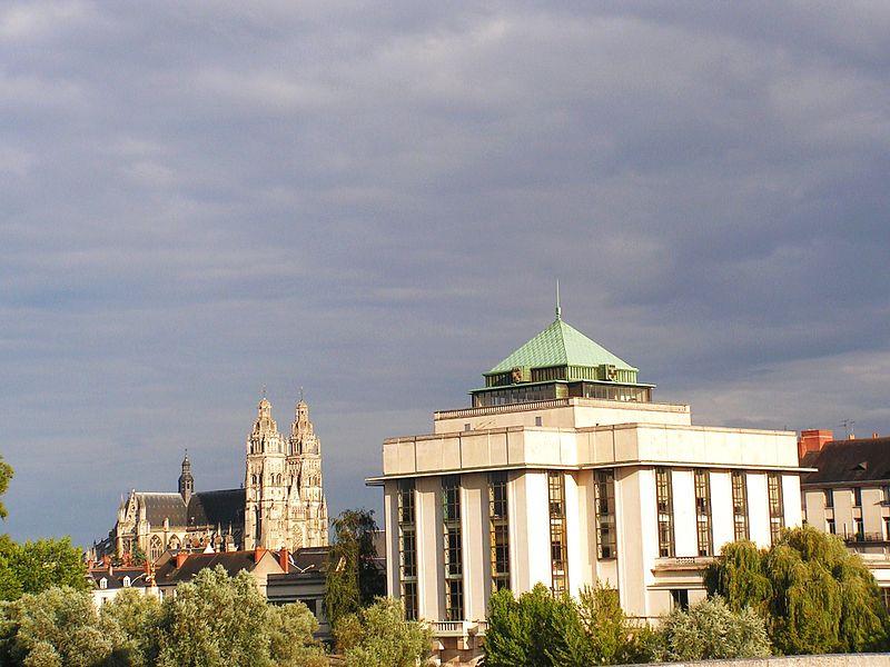 Photo du Monument Historique Bibliothèque municipale situé à Tours