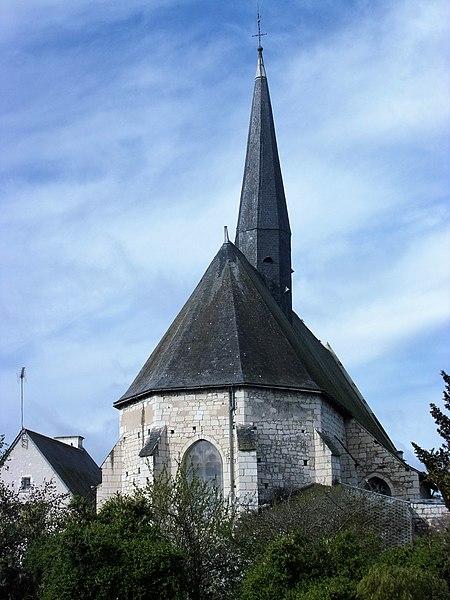 Photo du Monument Historique Eglise paroissiale Saint-Léger situé à Nouâtre