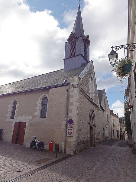 Photo du Monument Historique Eglise paroissiale Notre-Dame situé à Montbazon