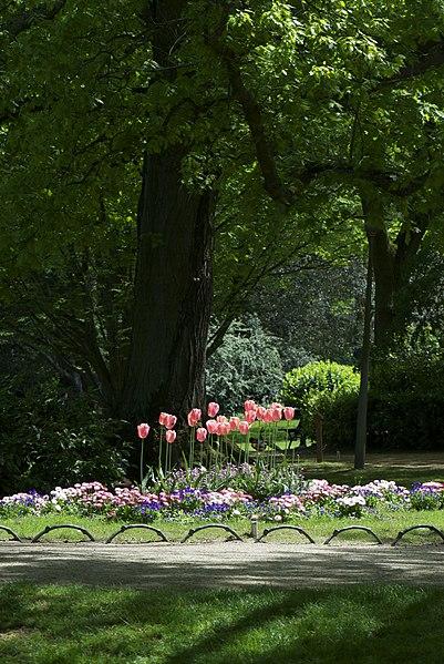 Photo du Monument Historique Jardin des Prébendes d'Oé situé à Tours