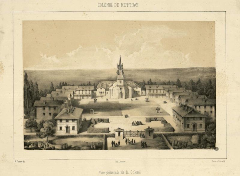 Photo du Monument Historique Ancienne colonie agricole et pénitentiaire situé à Mettray