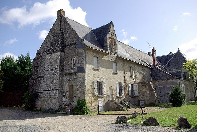 Photo du Monument Historique Logis seigneurial de Parçay situé à Parçay-Meslay