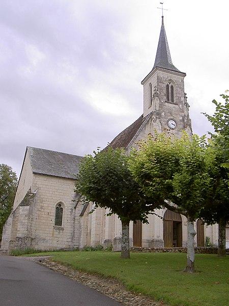 Photo du Monument Historique Eglise paroissiale Saint-Laurent situé à Boussay