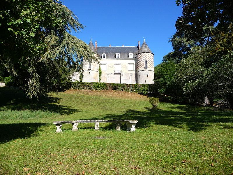Photo du Monument Historique Château de Châtigny situé à Fondettes