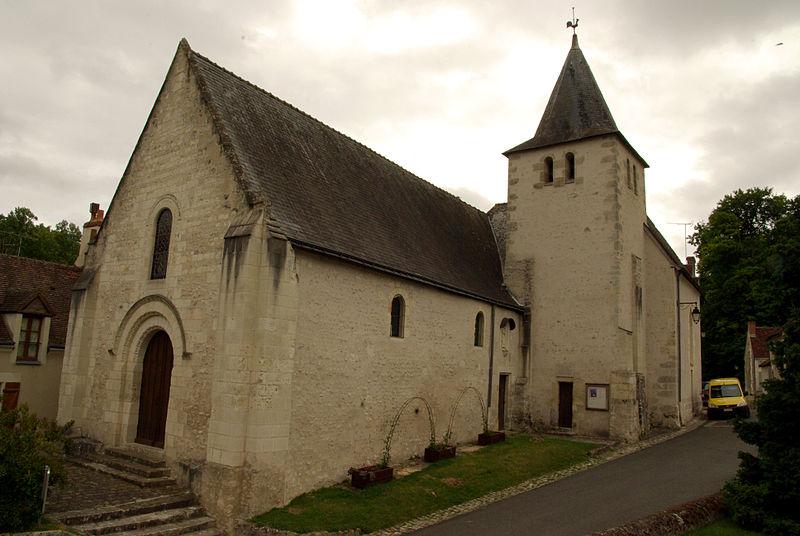 Photo du Monument Historique Eglise Saint-Crépin et Saint-Crépinien situé à Azay-sur-Indre