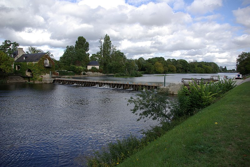 Photo du Monument Historique Site du barrage éclusé mobile à aiguilles de Nitray situé à Athée-sur-Cher