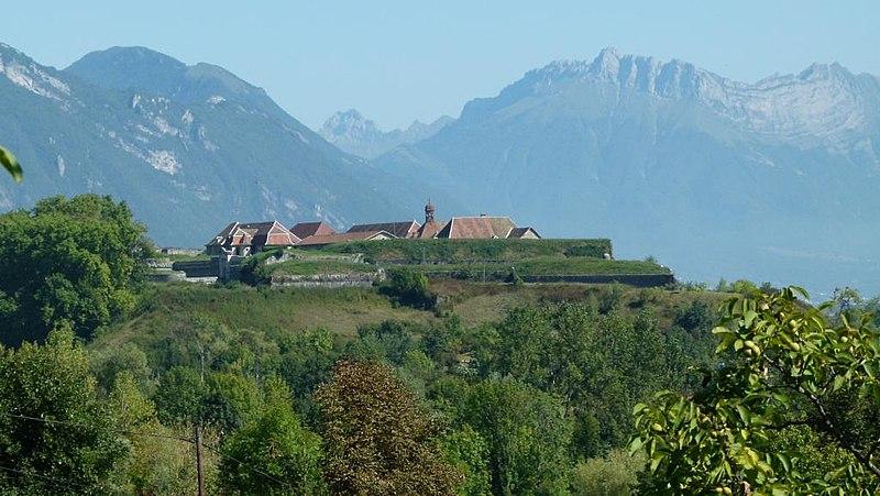 Photo du Monument Historique Fort Barraux, appelé autrefois fort Saint-Barthélémy situé à Barraux