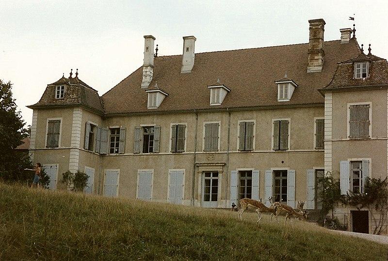 Photo du Monument Historique Château de Moidière situé à Bonnefamille