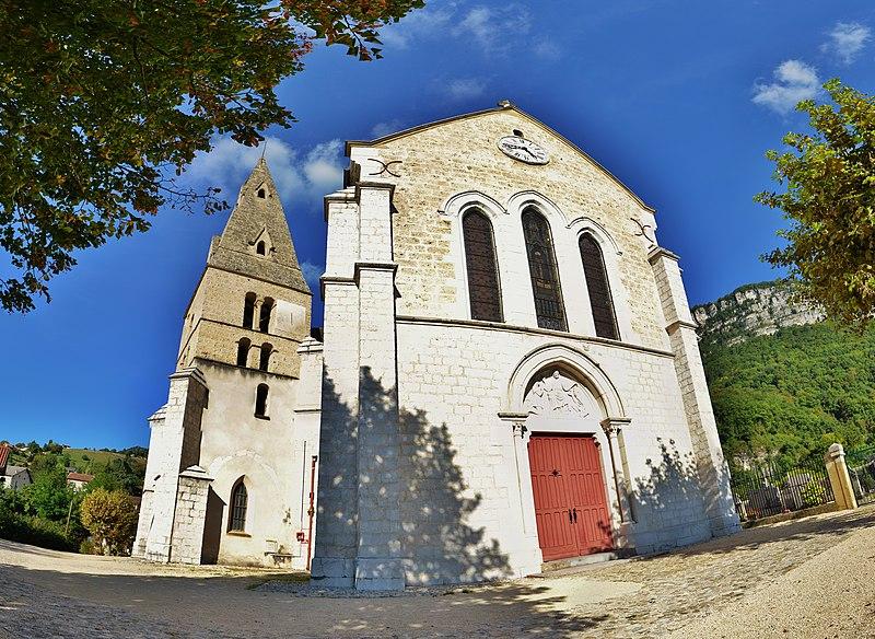 Photo du Monument Historique Eglise situé à La Buisse