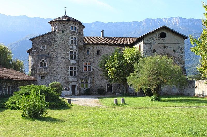 Photo du Monument Historique Manoir de la Tour situé à Le Cheylas