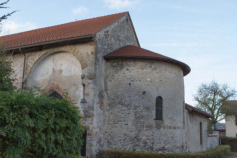 Photo du Monument Historique Prieuré situé à Chirens