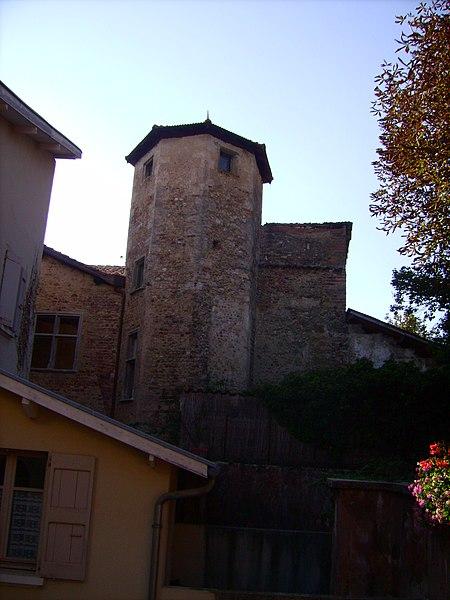 Photo du Monument Historique Hôtel de Bocsozel situé à La Côte-Saint-André