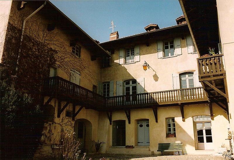 Photo du Monument Historique Maison natale de Berlioz situé à La Côte-Saint-André
