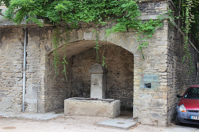 Photo du Monument Historique Fontaine situé à Crémieu