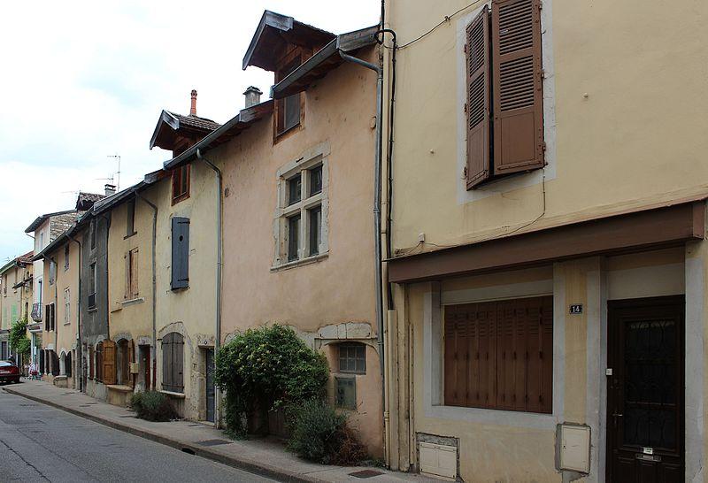 Photo du Monument Historique Maison situé à Crémieu