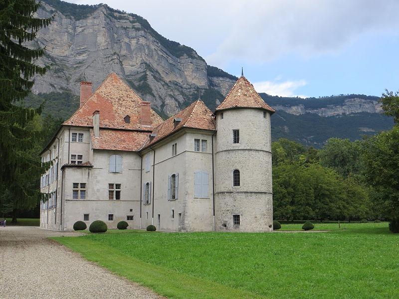 Photo du Monument Historique Château situé à Crolles