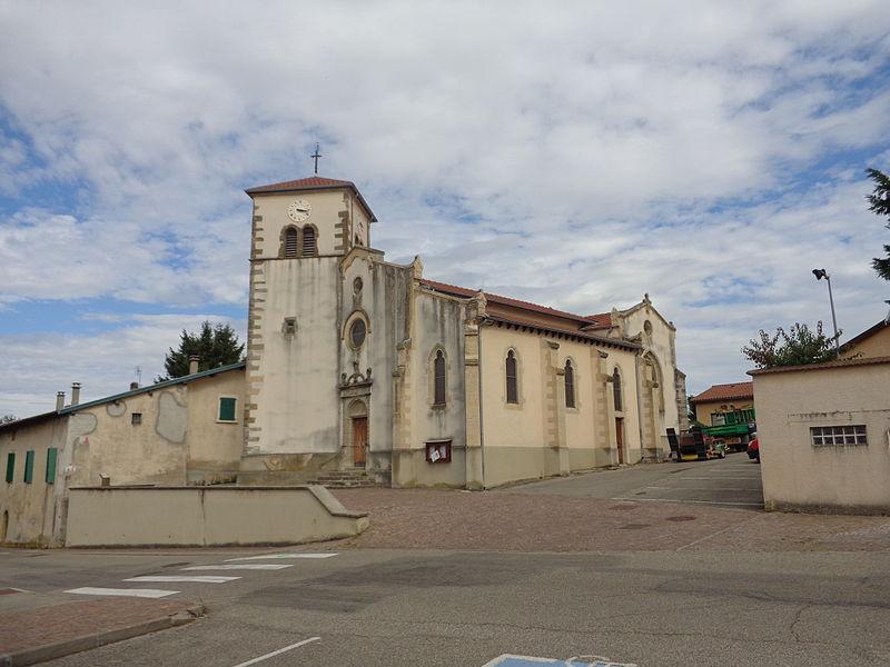 Photo du Monument Historique Eglise situé à Diémoz