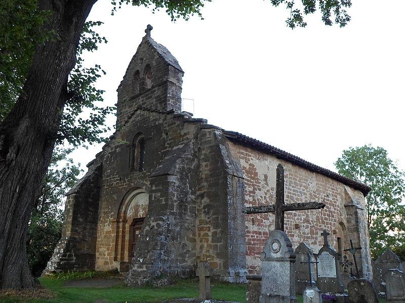 Photo du Monument Historique Chapelle du cimetière de Saint-Jean-le-Fromental situé à Dionay