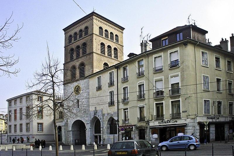 Photo du Monument Historique Cathédrale Notre-Dame situé à Grenoble