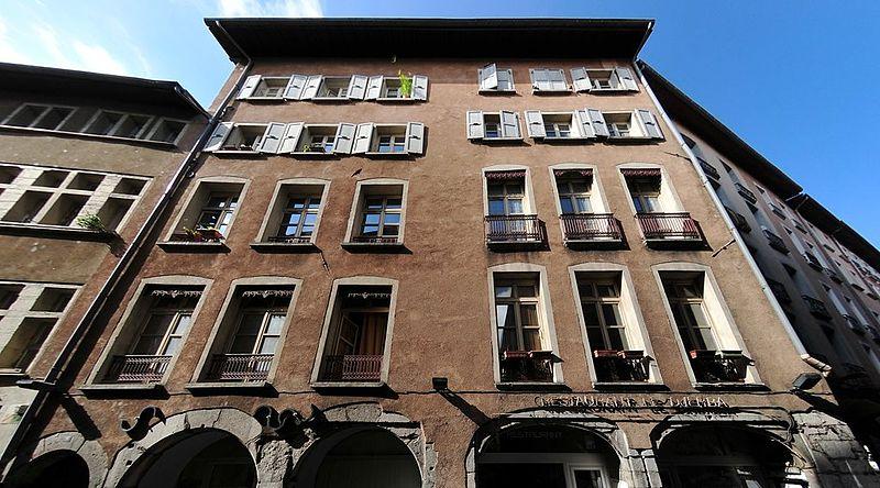 Photo du Monument Historique Immeuble situé à Grenoble