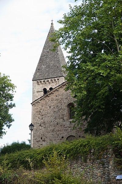 Photo du Monument Historique Chapelle Saint-Firmin ou des Templiers situé à Notre-Dame-de-Mésage