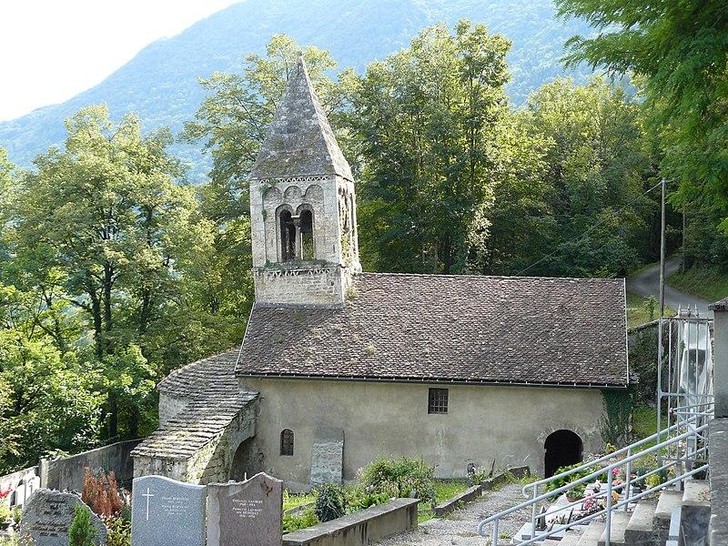 Photo du Monument Historique Eglise paroissiale Saint-Firmin situé à Notre-Dame-de-Mésage