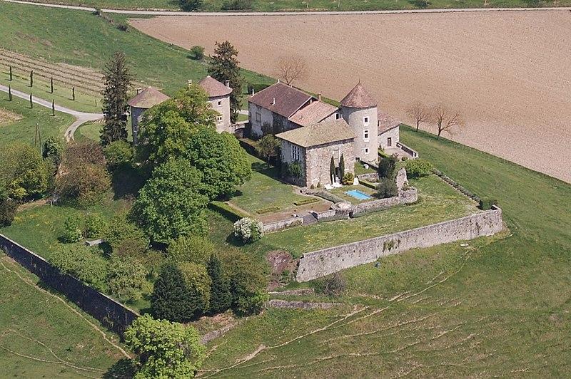 Photo du Monument Historique Château de Bayard (ruines) situé à Pontcharra