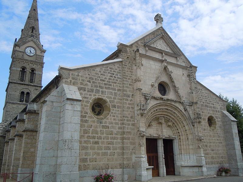 Photo du Monument Historique Eglise Saint-Georges situé à Saint-Geoire-en-Valdaine