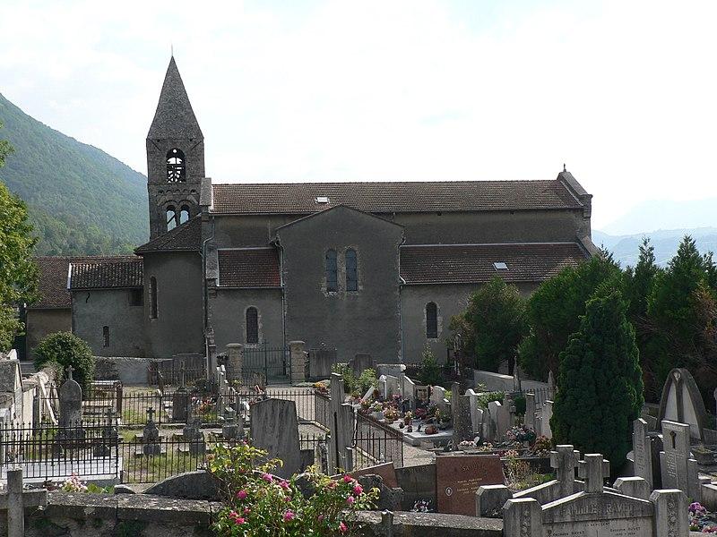 Photo du Monument Historique Eglise de Saint-Pierre de Commiers situé à Saint-Georges-de-Commiers