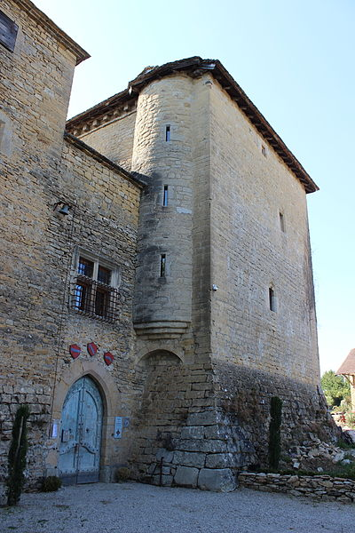 Photo du Monument Historique Château de Montplaisant situé à Saint-Hilaire-de-Brens