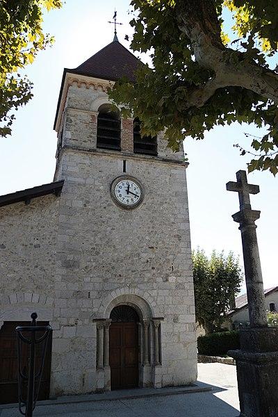 Photo du Monument Historique Eglise situé à Saint-Ismier