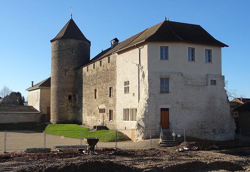 Photo du Monument Historique Château de Demptézieu situé à Saint-Savin
